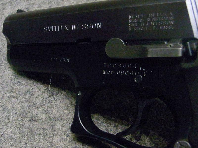pistola Smith & Wesson 6904 usata
