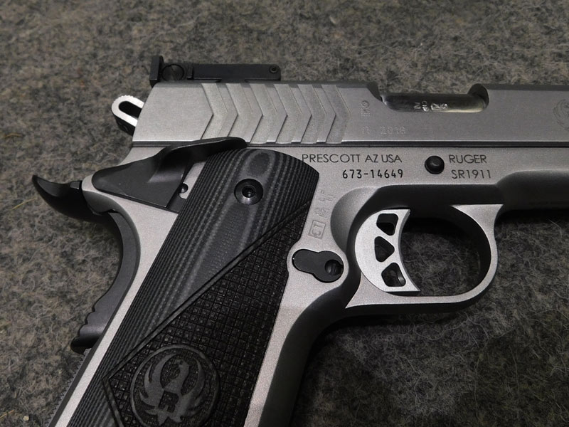 pistola Ruger SR 1911 9 x 21