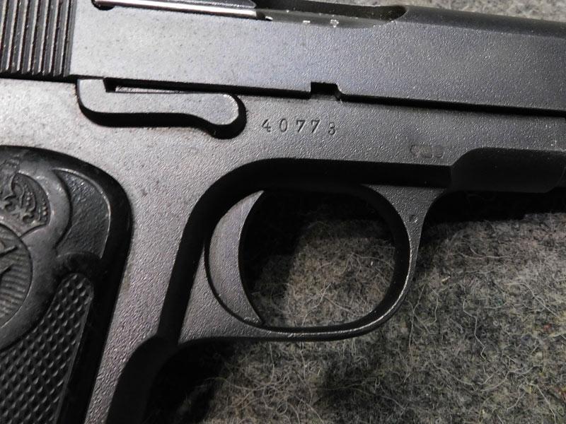 pistola Husqvarna 1907