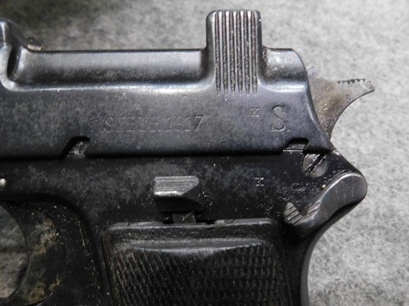 pistola Steyr 1912
