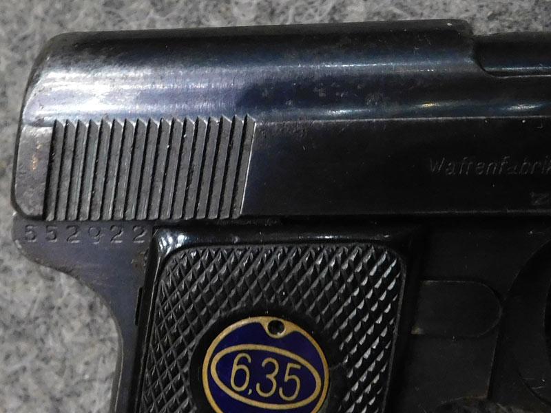 Walther 9 Zella Mehlis
