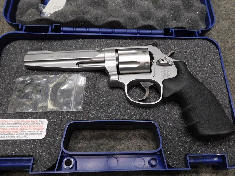 revolver S&W 686 Plus Pro Series