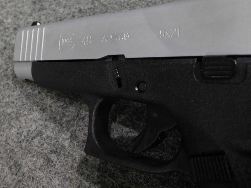 pistola Glock 48 Silver 9 x 21