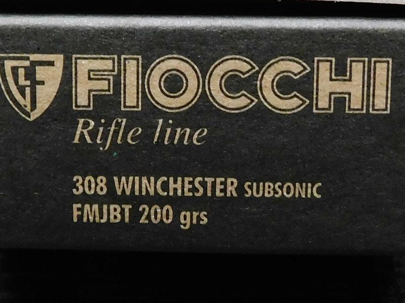 Fiocchi 308 Subsoniche