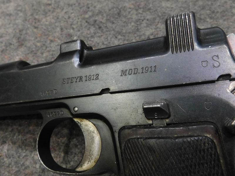 Steyr 1911 Chile