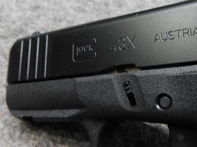 Glock 43X FS Rail