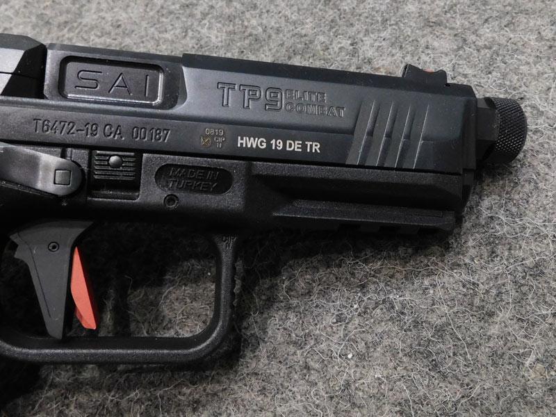Canik TP9 Elite Black