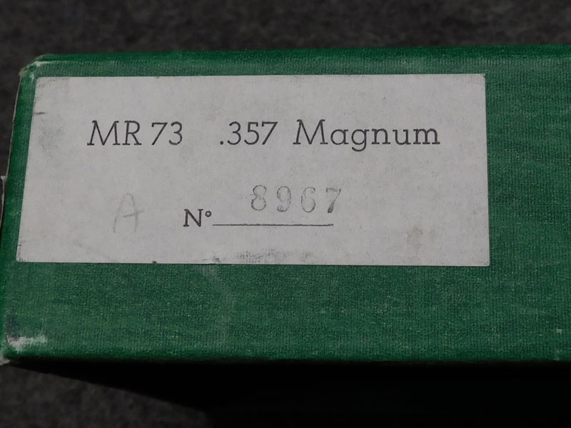 Manurhin MR73