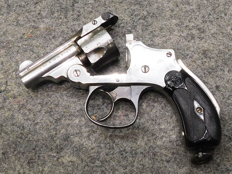 S&W Safety Hammerless