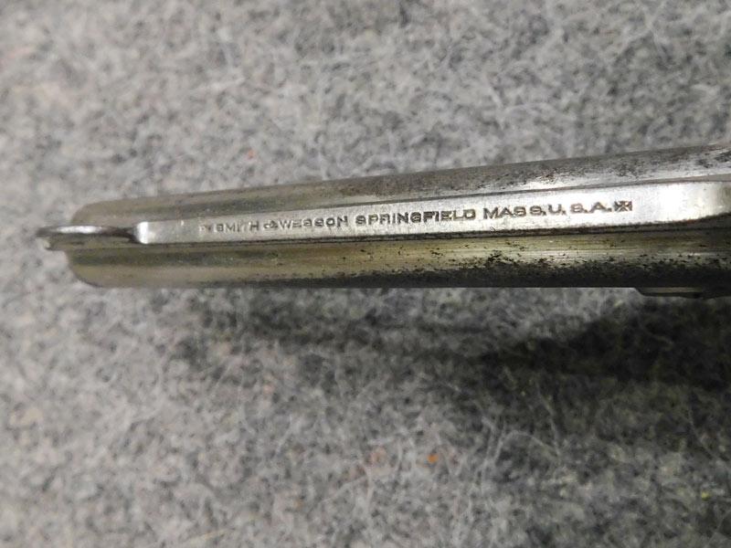 S&W Safety Hammerless