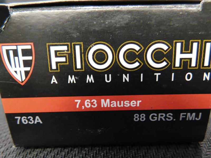 Fiocchi 7,63 mauser