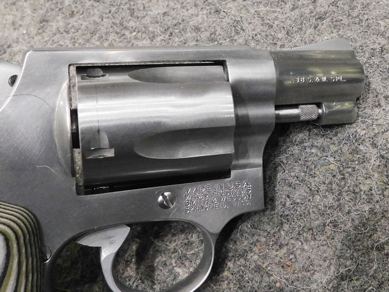 Smith & Wesson 60-7 usato