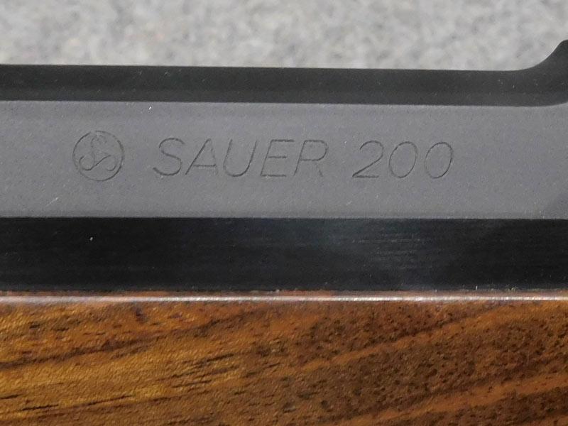 Sauer 200 S con Swarovsky