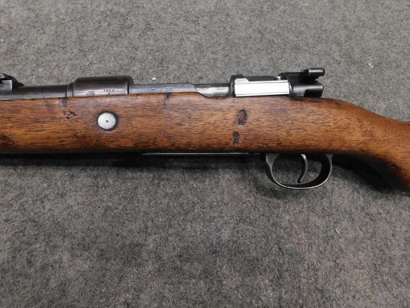 Mauser K98 monomatricola