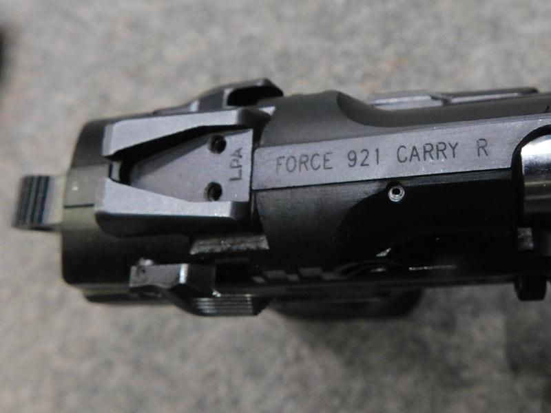 Tanfoglio Force Carry R usata