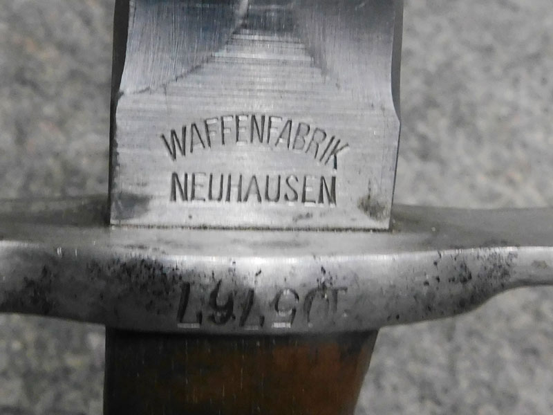 Baionetta Rubin Schmidt 1918