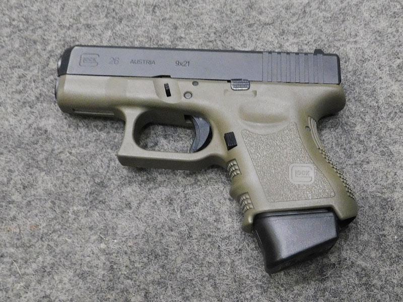 Glock 26 FDE usata