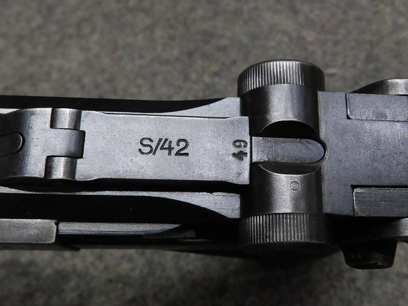 Mauser P08 S/42 1937