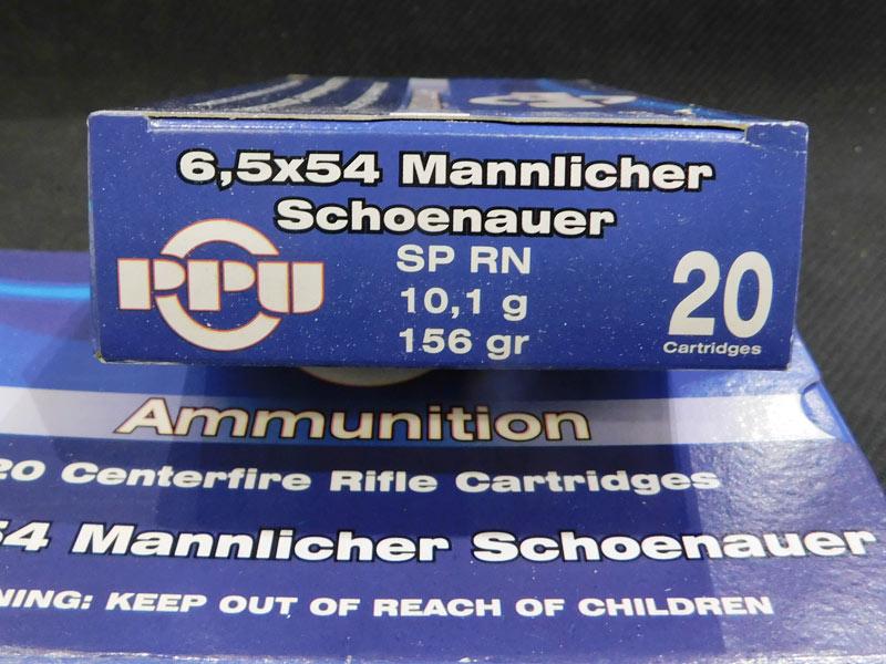 munizioni 6.5 x 54 MS