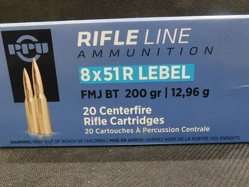 munizioni 8 x 50 R Lebel