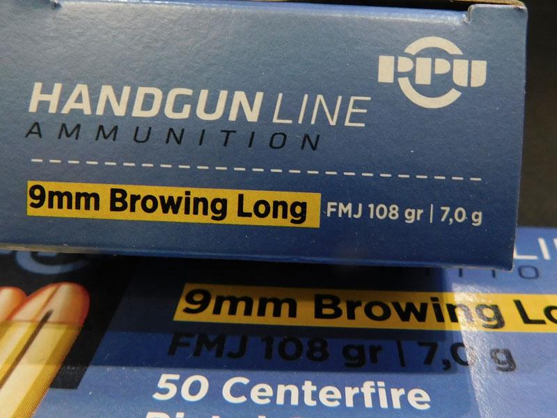 munizioni  9 Browning Long